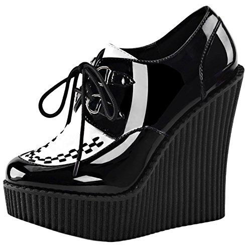 Heels-Perfect, Sandali donna nero (nero)