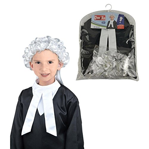 Biback Halloween Children Costume Lawyer Role Playing Clothing Kids Dress up -
