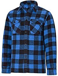 Chemise canadienne bleu