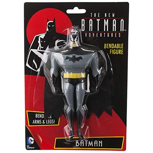 NJ Croce The New Batman Adventures Batman Bendable Figure, Multi Color