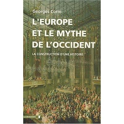 EUROPE ET MYTHE DE L OCCIDENT