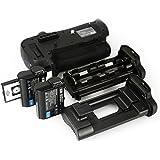DSTE Télécommande Vertical Batterie Poignée Titulaire pour Nikon D810 D800E D800 DSLR Caméra comme MB-D12 avec 2-pack EN-EL15