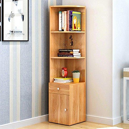 DEO Etagères Étagère en bois de bureau de stockage d'affichage de bibliothèque 30 * 30 * 138cm Stockage (Couleur : 1)