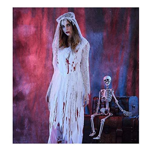Crawling Halloween Kostüm, Kostümparty Kostüm, Vampir Braut - Abgetrennter Kopf Kostüm