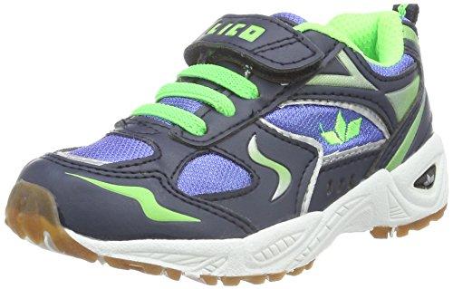 Lico Bob Vs, Chaussures de Fitness Mixte Enfant Bleu (Blau/Marine/Lemon)