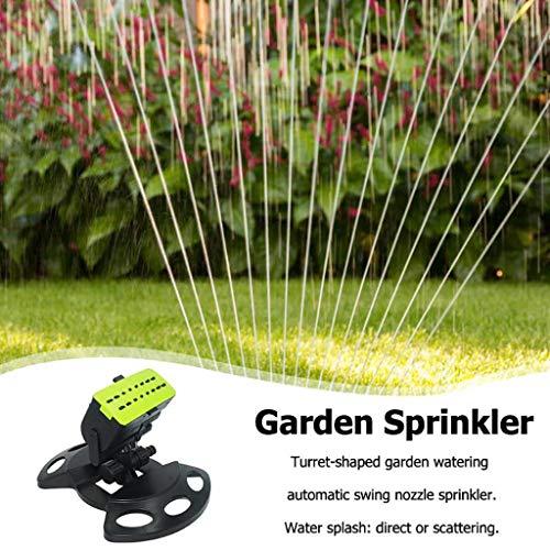 Tensay 16 Holes Garden Sprinklers Sprayer Automatische Schwenkdüse Sprinkler Forstwirtschaft Bewässerung Bewässerungsgeräte, Family Courtyard Botanical Garden Rasensprinkler -
