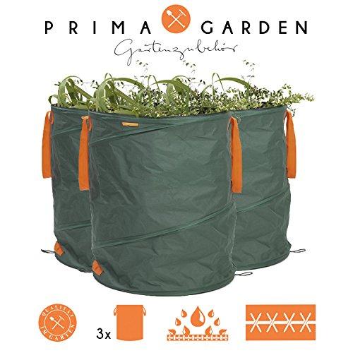 prima-garden-03700-gartenabfallsack-3er-set-gartensack-laubsack-rasensack-geeignet-fur-gartenabfalle