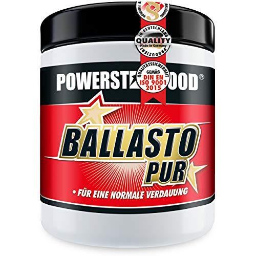 BALLASTO PUR – Prebiotisches Ballaststoff Pulver aus Inulin & Haferfasern – Zur gesunden Darmpflege & normalen Verdauung – Pharmaqualität – Vegan – Made in Germany – 300g