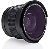 Opteka HD ² 0,35 x Objectif grand Angle Panoramique Macro Fisheye pour Canon EOS 60D, 50D, 40D, 30D, 20D, 7D, 6D, 5D, 1D, Rebel T3, T4i, T3i, T2i, T1i, XSi, XS, XTi appareil photo reflex numérique