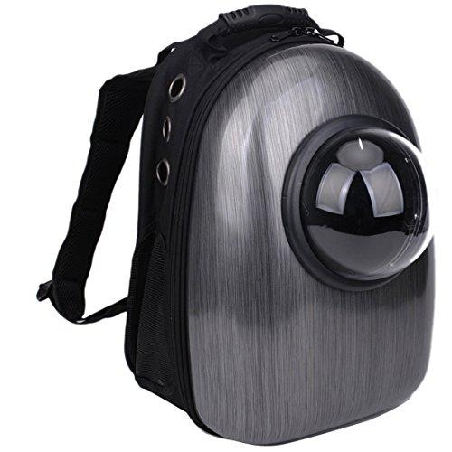 Astronaut Tasche Atmungsaktiv Transport Rucksack für Katze Kleiner Hund Leichte Tasche zum Reisen Wandern Camping für Welpen