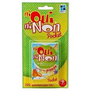 Megableu - Juego de cartas Oui Oui, 2 a 4 jugadores (678052) Importado de Francia