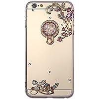 iPhone 6S Hülle,iPhone 6 Hülle,iPhone 6/6S Schutzhülle Spiegel,SainCat Schmetterlinge Blumen Mirror Effect Hülle... preisvergleich bei billige-tabletten.eu