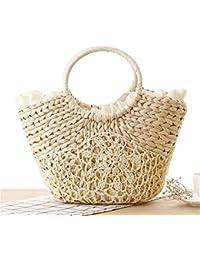 Bolsa De Playa Big Straw Totes Bag Bolsos De Viaje Hechos A Mano De Mujeres Tejidas Luxury Designer Crochet Flower Bolsos De Mano De…