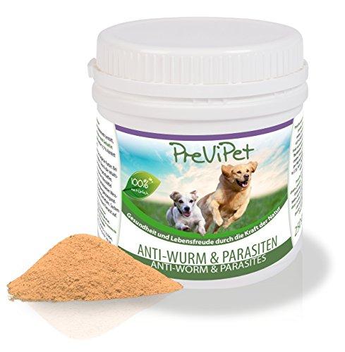 250g Previpet Anti Wurm & Parasit für Hunde - natürliches Ergänzungsfuttermittel
