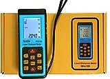 Neuf Techvs Marque 100m/100m Mini Handheld Digital Laser point Distance Mètre ruban de mesure laser Range Finder ruban à mesurer Règle Outil construire Angle Volume Outil de test écran LCD–UK envoi