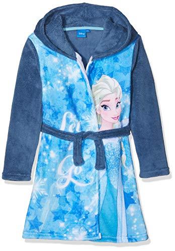 Disney Frozen Mädchen Bademantel Frozen, Blau (Blue 15-4421TC), 5 Jahre