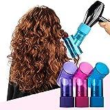 Difusor para secador de pelo para mujer, portátil, difusor de rizos y secador de pelo mágico, difusor para cabello ondulado rizado, accesorio universal para secador de pelo