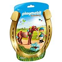 Playmobil 6971 Collectable Groomer with Butterfly Pony