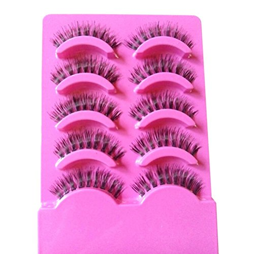 attractive-beauty-5-pairs-clear-band-false-thick-eye-lashes