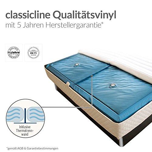 ORIGINAL bellvita Wasserbett mit Schubladen inkl. Lieferung und Aufbau durch Fachpersonal, schwarz, 200 cm x 200 cm - 2