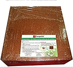 Cocogarden® Cocopeat Block - Expands Up To 75 Litres of Coco Peat Powder