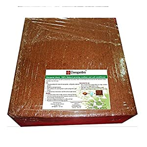 Cocogarden® Cocopeat Block – Expands Up To 75 Litres of Coco Peat Powder