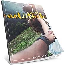 Dékokind® Blanko Notizbuch: Ca. A4-Format • 100 Seiten mit Inhaltsverzeichnis • Perfekt als Zeichenbuch, Sketchbook oder Malbuch für Erwachsene • ArtNr. 44 Traumhaft • Softcover