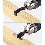 Generic 5pcs/set High Speed Steel Burr Drill Bit Set Wood Carving Rasps For Dremel Shank Burs Tools Cutting Tool Black