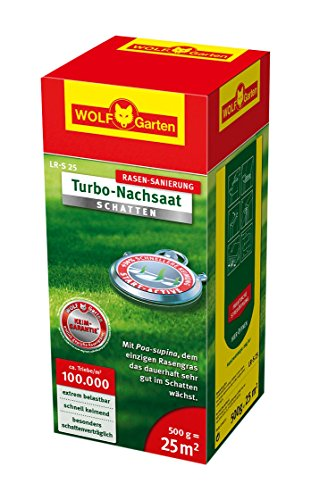 WOLF-Garten Turbo-Nachsaat Schatten L-RS 25, rot