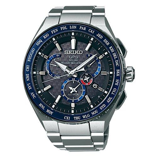 Seiko Herren-Armbanduhr Chronograph Quarz Titan SSE047J1