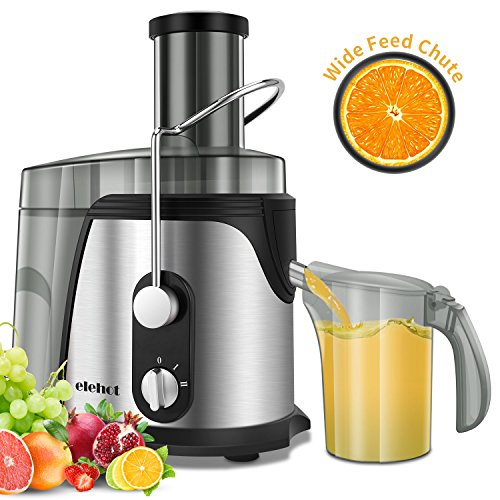 Home Centrifugal Juicer 800W Electric Juicer Juice Extractor for Whole Fruit Citrus Vegetables