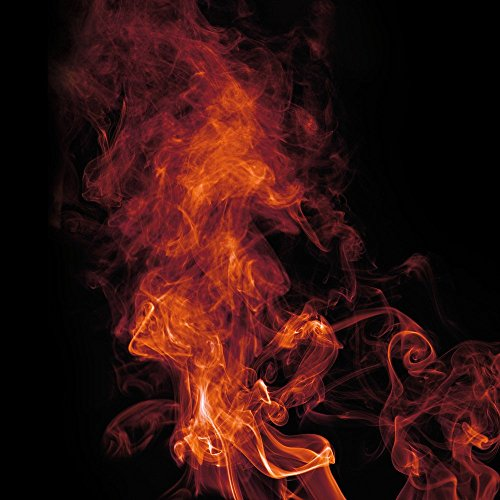Apple iPhone 4 Housse Étui Silicone Coque Protection Flamme Fumée Fumée Étui en cuir bleu marine