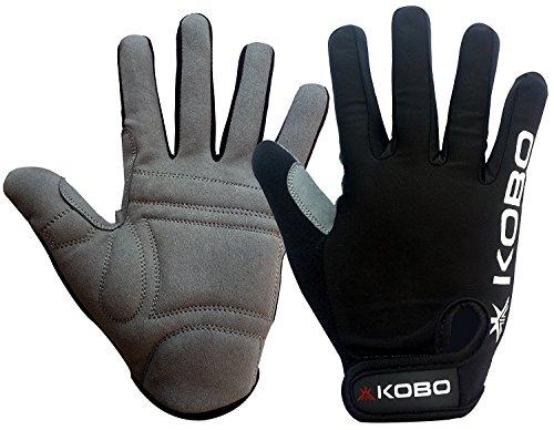 Kobo CTG-04 Lycra-Spandex Gym Gloves, Large (Black)
