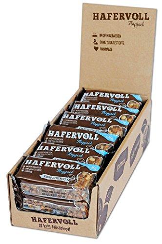 HAFERVOLL Flapjack Kakao Haselnuss, 18 x 65g