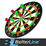 Mejor línea magnético dardos juego con 16inch Diana y 6dardos