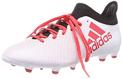 outlet store f8eec ae412 adidas X 17.3 Fg, Scarpe da Calcio Uomo, Bianco Ftwwht Reacor Cblack