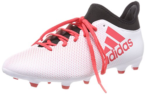 adidas X 17.3 FG, Chaussures de Football Homme, Multicolore (Ftwwht/reacor/cblack Cp9192), 42 2/3 EU