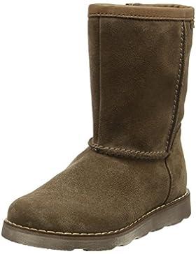 Froddo Mädchen Girls Waterproof Wool Lining Boots Brown G3160058, Braun (Cognac), 32 EU (12.5 Child UK )