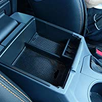 YYD Center Console Tray,Car Armrest Organizer Storage Box Car Interior Accessories For Range Rover Velar