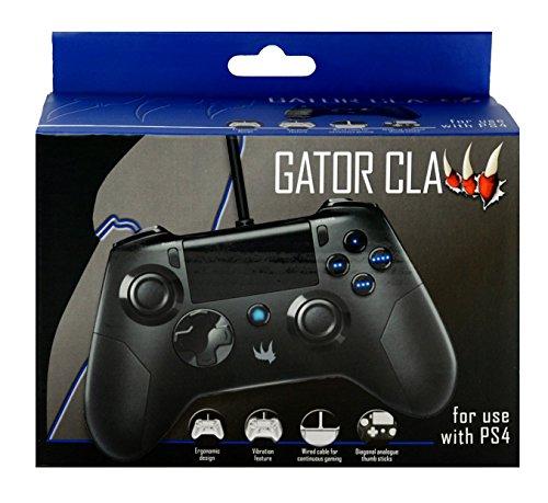 Nobilis - Mando Gator Claw, Color Negro (PlayStation 4)