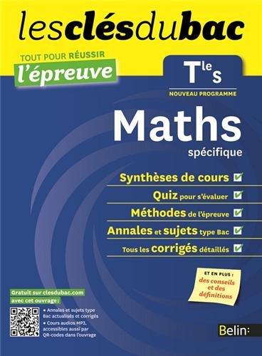 Cls du Bac - Maths Tle S spcifique - Russir l'preuve par Pierre-Henri Pin, Rhydwen Volsik
