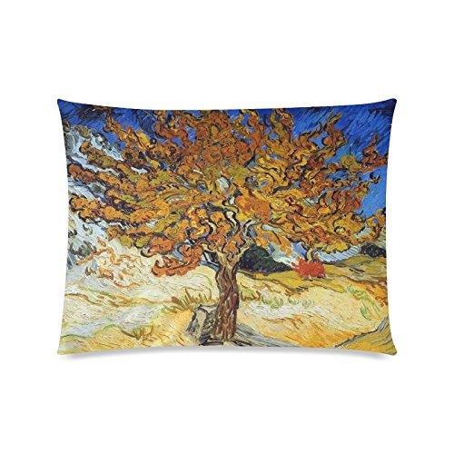 Vincent Van Gogh Gemälde Rechteck Sofa Home dekorativer Überwurf-Kissenbezug Baumwolle Polyester Twin Seite Druck 50,8x 66cm (Monster-truck-plüsch Werfen)