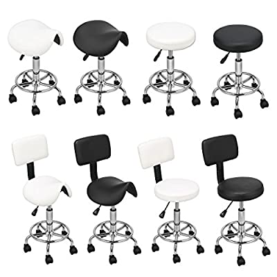 Stool Chair Swivel Hydraulic Gas Lift Salon Tattoo Beauty Massage Hairdressing Equipment produced by GuangZhou Xu Qiao Trade. Ltd. - quick delivery from UK.