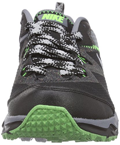 NikeDual Fusion Trail - Scarpe da Trail Running Uomo Multicolore (Mehrfarbig (Black/Metallic Platinum/Cool Grey/Wolf Grey))