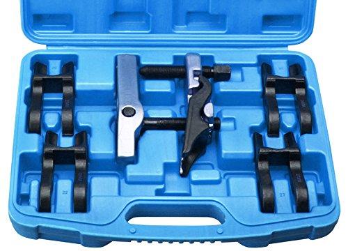 7-tlg. Kugelgelenk Ausdrücker Kugelkopf Abzieher 5 Gabeln 20-22-24-27-30 mm
