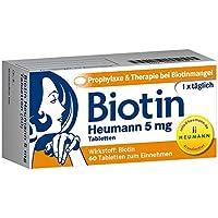 Biotin Heumann 5 mg, 60 St. Tabletten preisvergleich bei billige-tabletten.eu