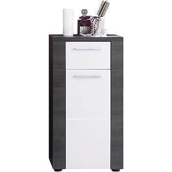 Trendteam Smart Living Badezimmer Schrank Kommode Xpress 40 X 78 X