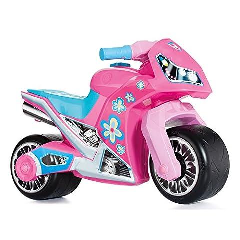 Rutschermotorrad mit breiten Reifen, dient als Lauflernhilfe für die Kleinen, 73 cm, geeignet für Innen und Außen, Robust, Lauflernrad fürs Gleichgewicht, Kinder Bike, Motorrad Roller ab 18 Monaten