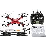 GoolRC Syma X5C Drone con Cámara HD 2.0MP 2.4GHz 4CH 6-Axis Control Remoto con GoolRC Bolso de Nylon & Dos Baterías Extras