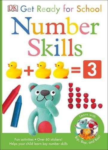 Get Ready For School Number Skills (Skills for Starting School)